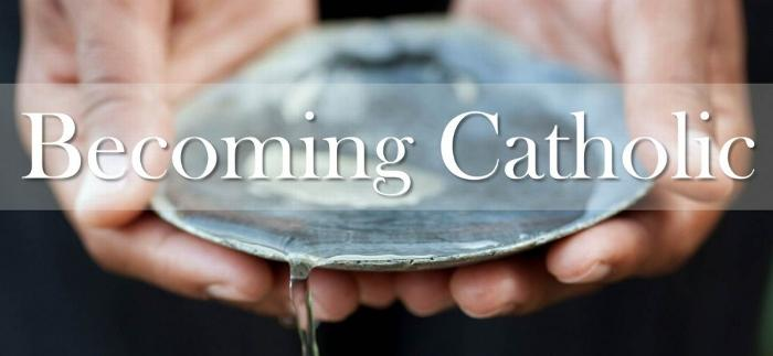 """""""Becoming Catholic"""" Sessions begin"""